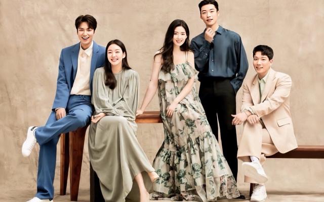 Lee Min Ho, Kim Go Eun, Jung Eun Chae, Woo Do Hwan a Kim Kyung Nam
