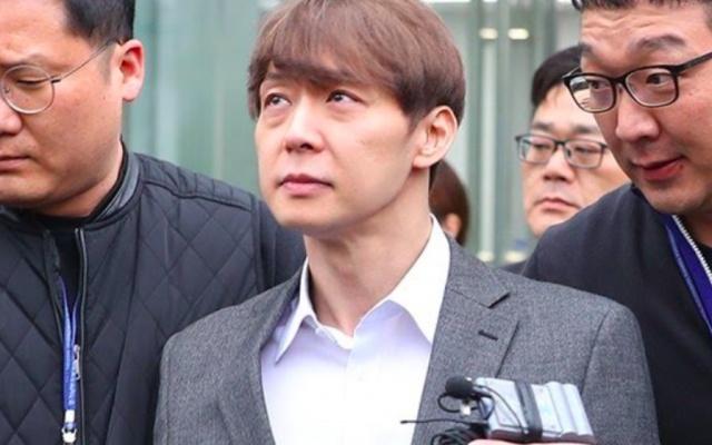 Park Yoochun před soudem
