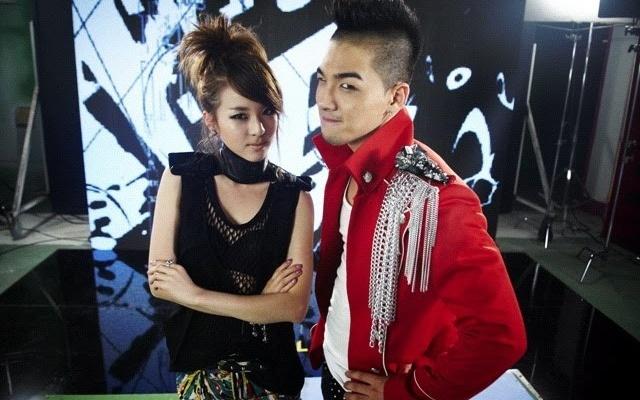 Sandara (2NE1) a Taeyang (BIGBANG)