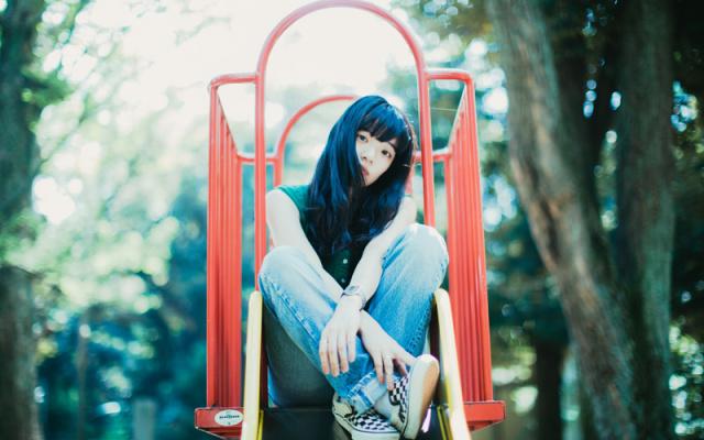 Japonská speváčka Aimyon