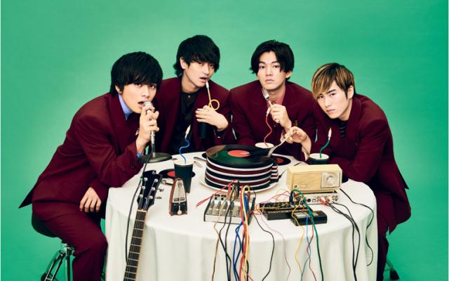 Japonská rocková skupina DISH//
