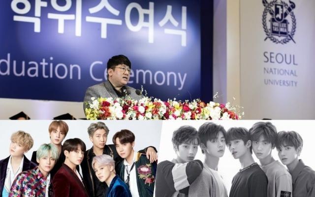 Riaditeľ spoločnosti Big Hit Entertainment Bang Shi Hyuk