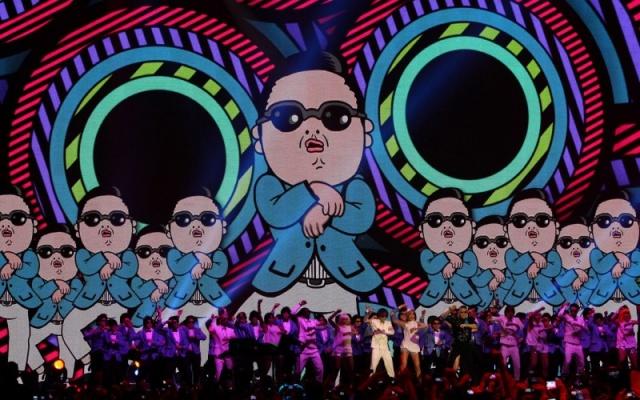 Nejvlivnějším K-Pop zpěvákem roku 2012 PSY