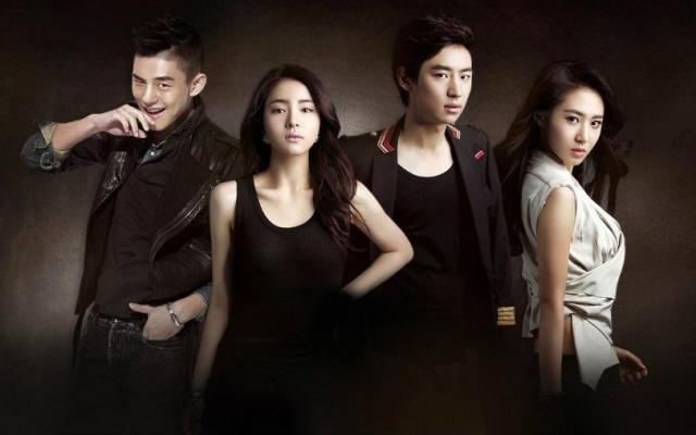 """Poster k TV drama """"Fashion King"""""""