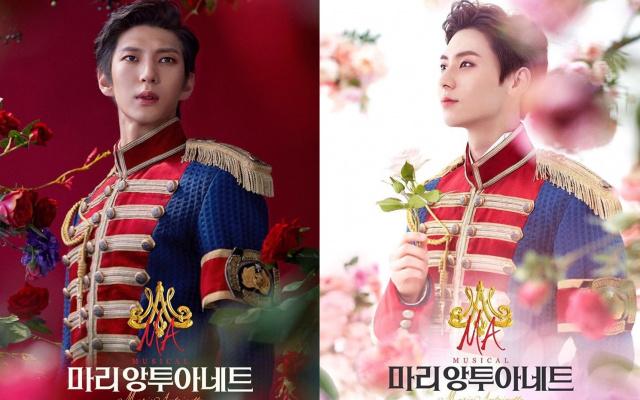 Leo a Minhyun na plakátech k muzikálu