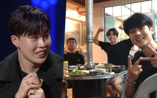 Peakboy, V, Park Seo Joon, Choi Woo Shik