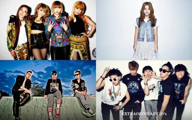 2NE1, Big Bang, Epik High a Lee Hi mali spoločné vystúpenie