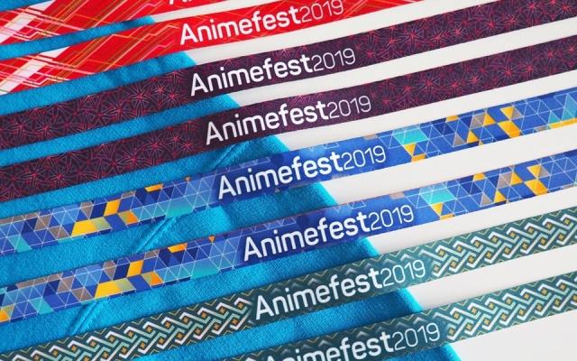 Oficiální náramky Animefestu 2019