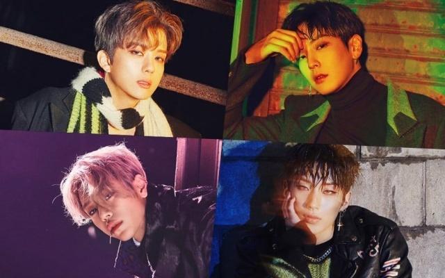 Youngjae, Himchan, Daehyun, Jongup