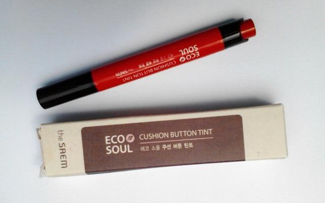 Eco Soul  – Cushion button tint - Punch Orange