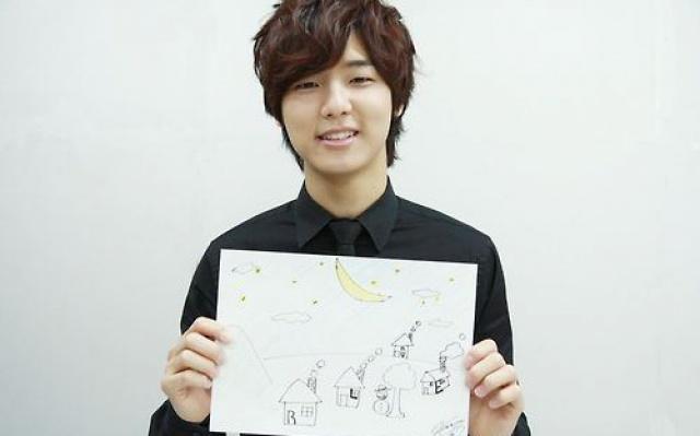 Kang Min Hyuk a jeho kresba