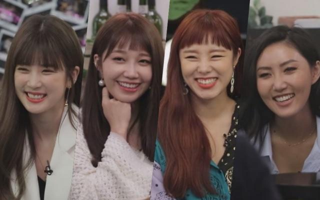 Členky z kórejských skupín Apink a MAMAMOO