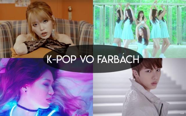 Užite si k-pop vo farbách