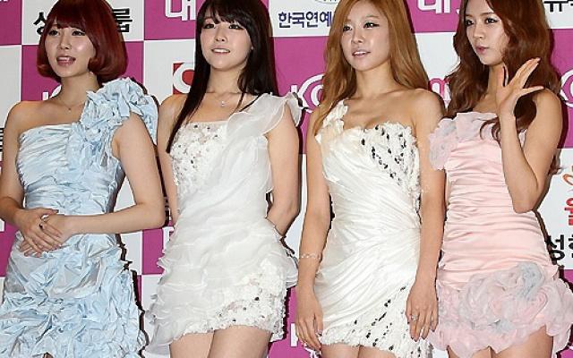 Girl′s day na cenách Korejské kulturní zábavy