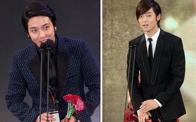 Jung Yong Hwa a Kang Min Hyuk na K-drama Star Awards