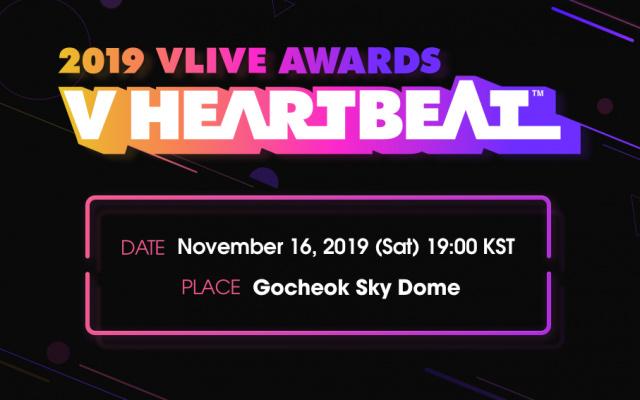VLive Awards V Heartbeat