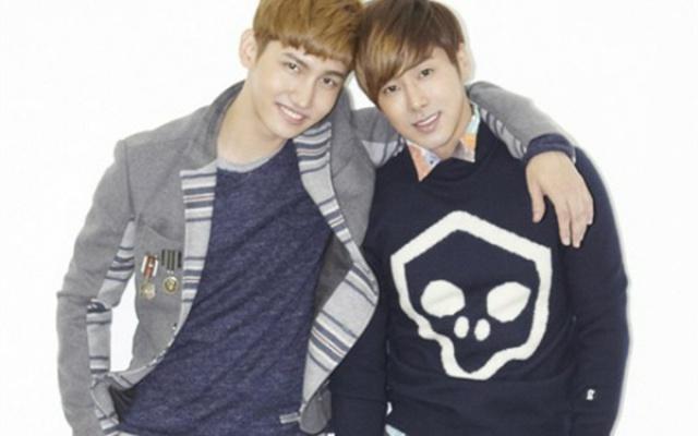 Shim Changmin a Jung Yunho