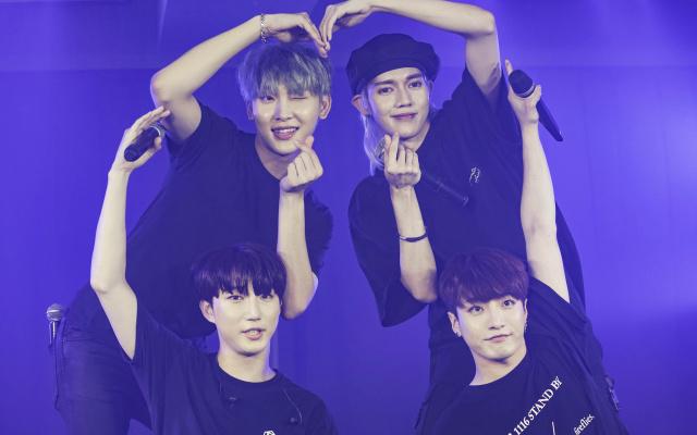 Eunjae, Loudi, Gohyeon, Kyunghoon
