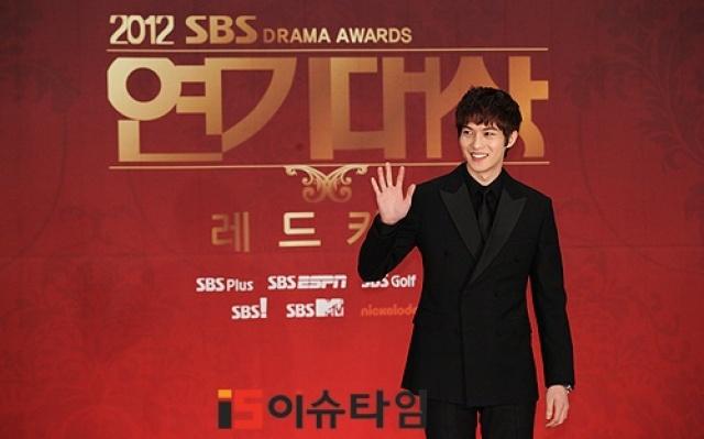 Lee Jong Hyun na SBS Drama Awards 2012