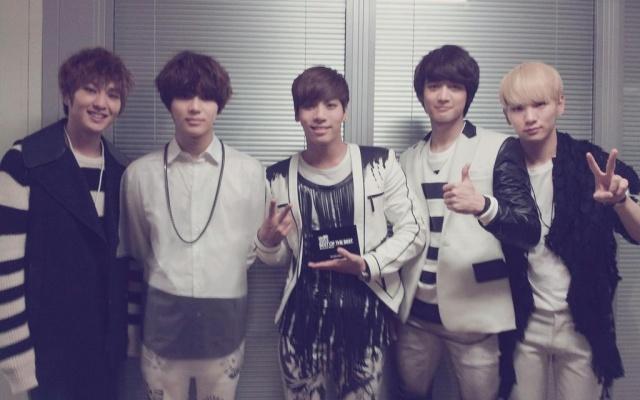 Onew, Taemin, Jonghyun, Minho, Key
