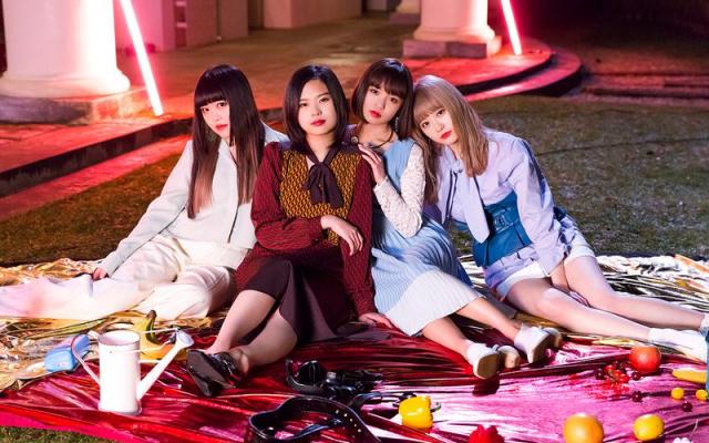 Japonská pop rocková kapela GIRLFRIEND